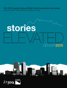 JEA/NSPA National High School Journalism Convention Spring 2015 Program – Denver (PDF)